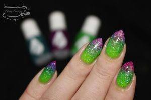 Envy Lacquer Bright trio gradient
