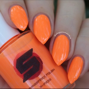 Outrageous Orange with natural lighting