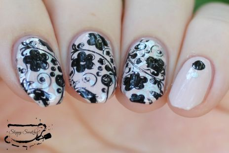 Double Stamping with China Glaze