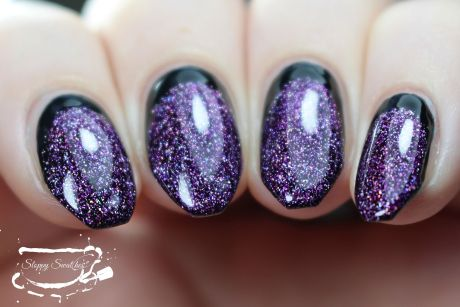 Mani under artificial lighting at an angle