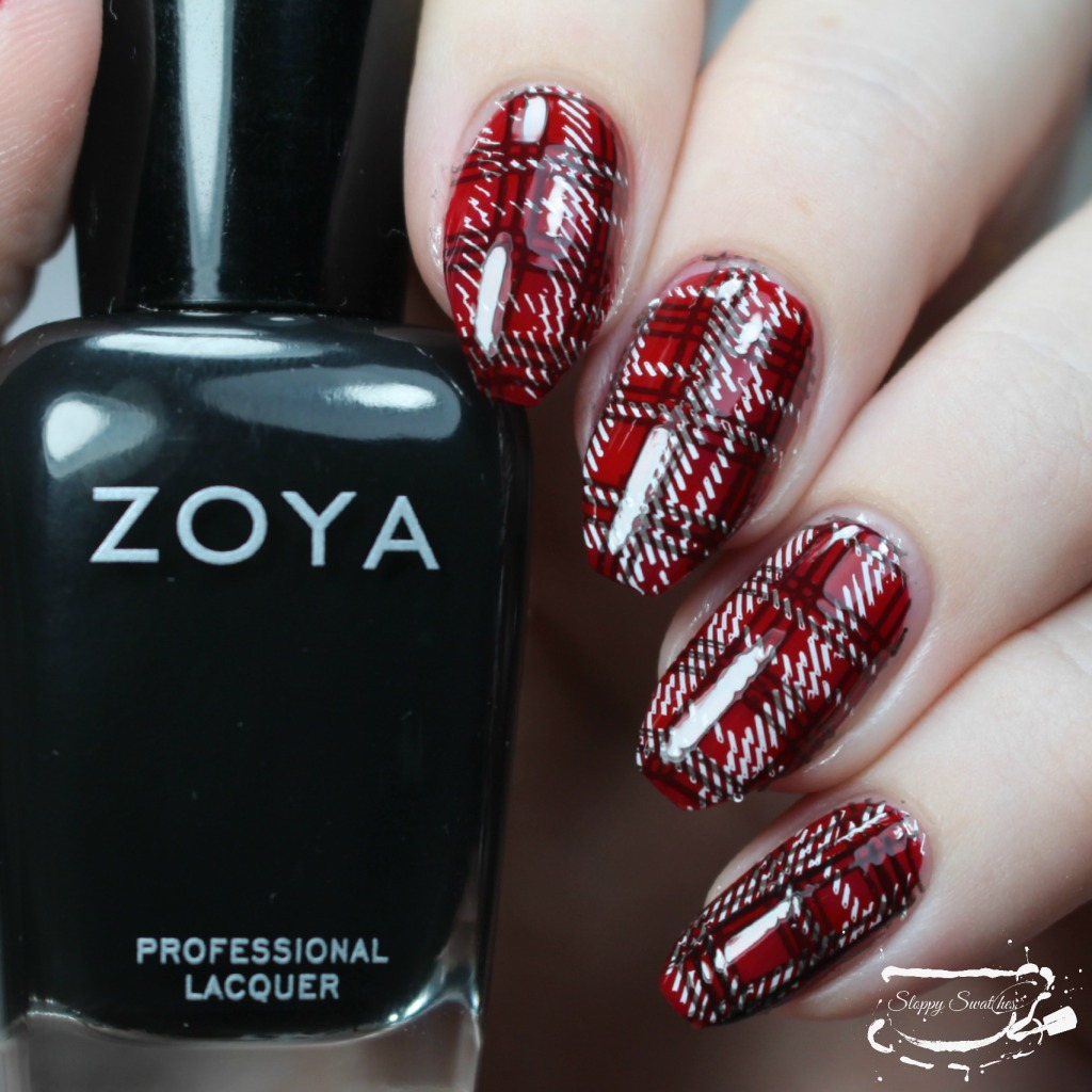 Double stamping with Zoya Willa