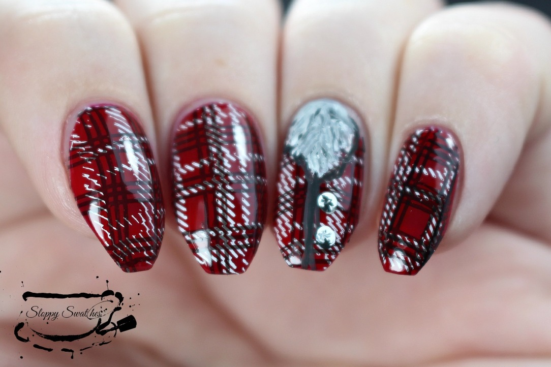 Nailart 31dc2015 day 29 supernatural werewolf nails nail nailart 31dc2015 day 29 supernatural werewolf nails prinsesfo Image collections