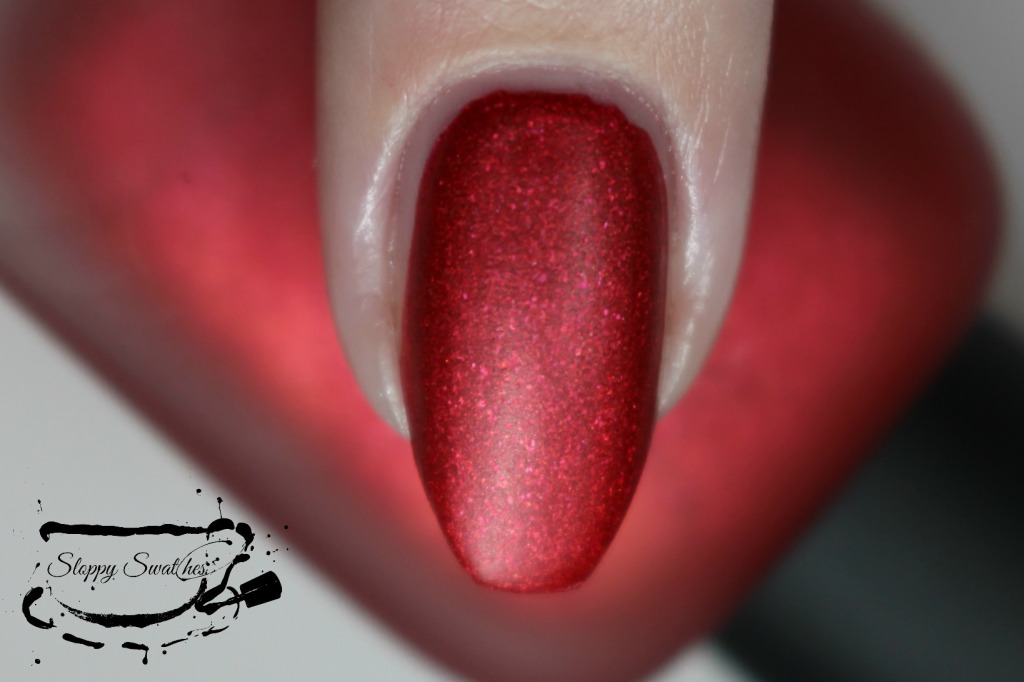 Zoya Amal matte macro at 2 coats