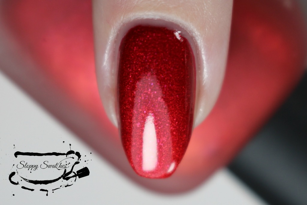 Zoya Amal topcoated with Armor macro at 2 coats