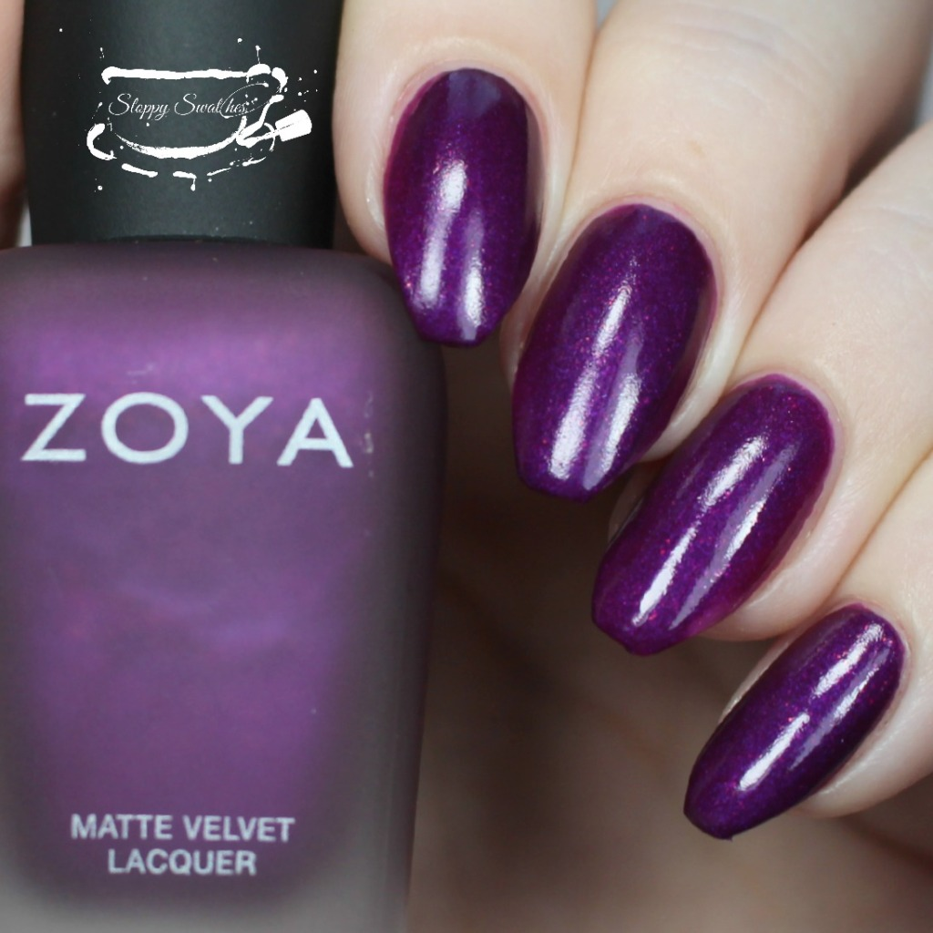 Zoya Iris topcoated with Armor at 2 coats