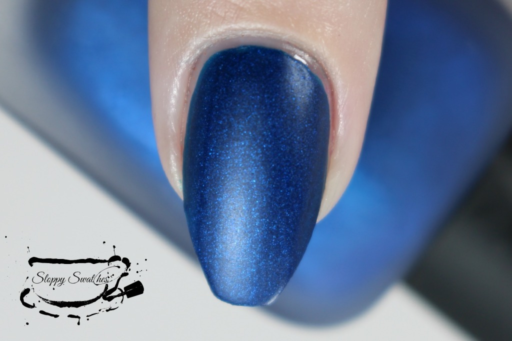 Zoya Yves matte macro at 2 coats