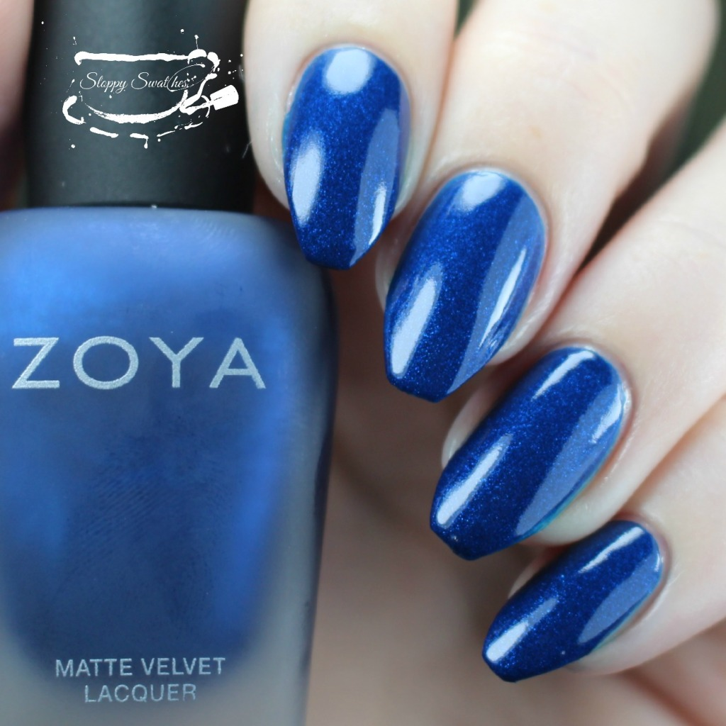 Zoya Yves topcoated with Armor at 2 coats