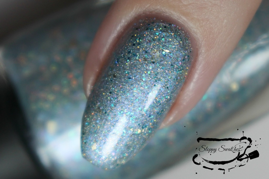 Tinman's Brew macro at 3 coats plus topcoat under artificial lighting.