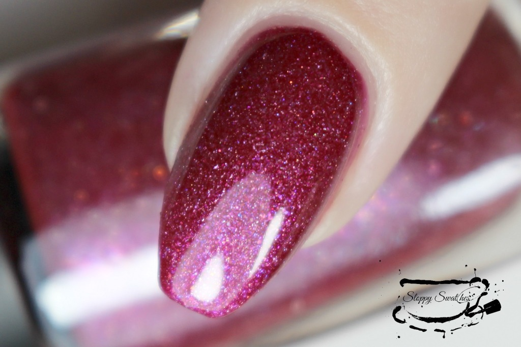 Do The Flamingo macro at 2 coats with topcoat under artificial lighting