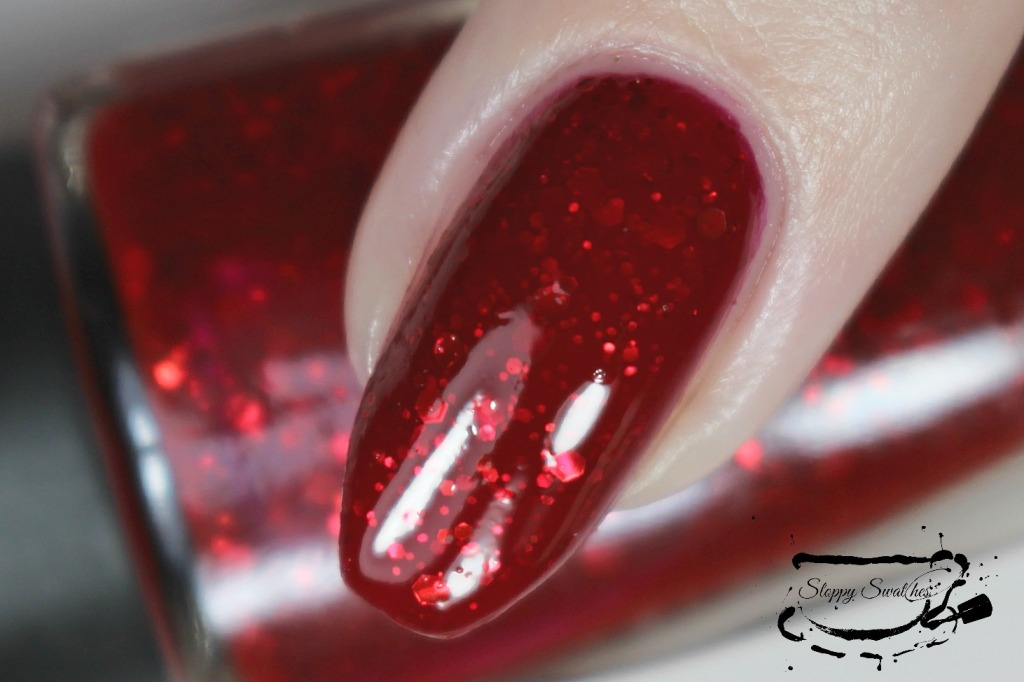 You're My Lobster macro at 3 coats plus topcoat under artificial lighting