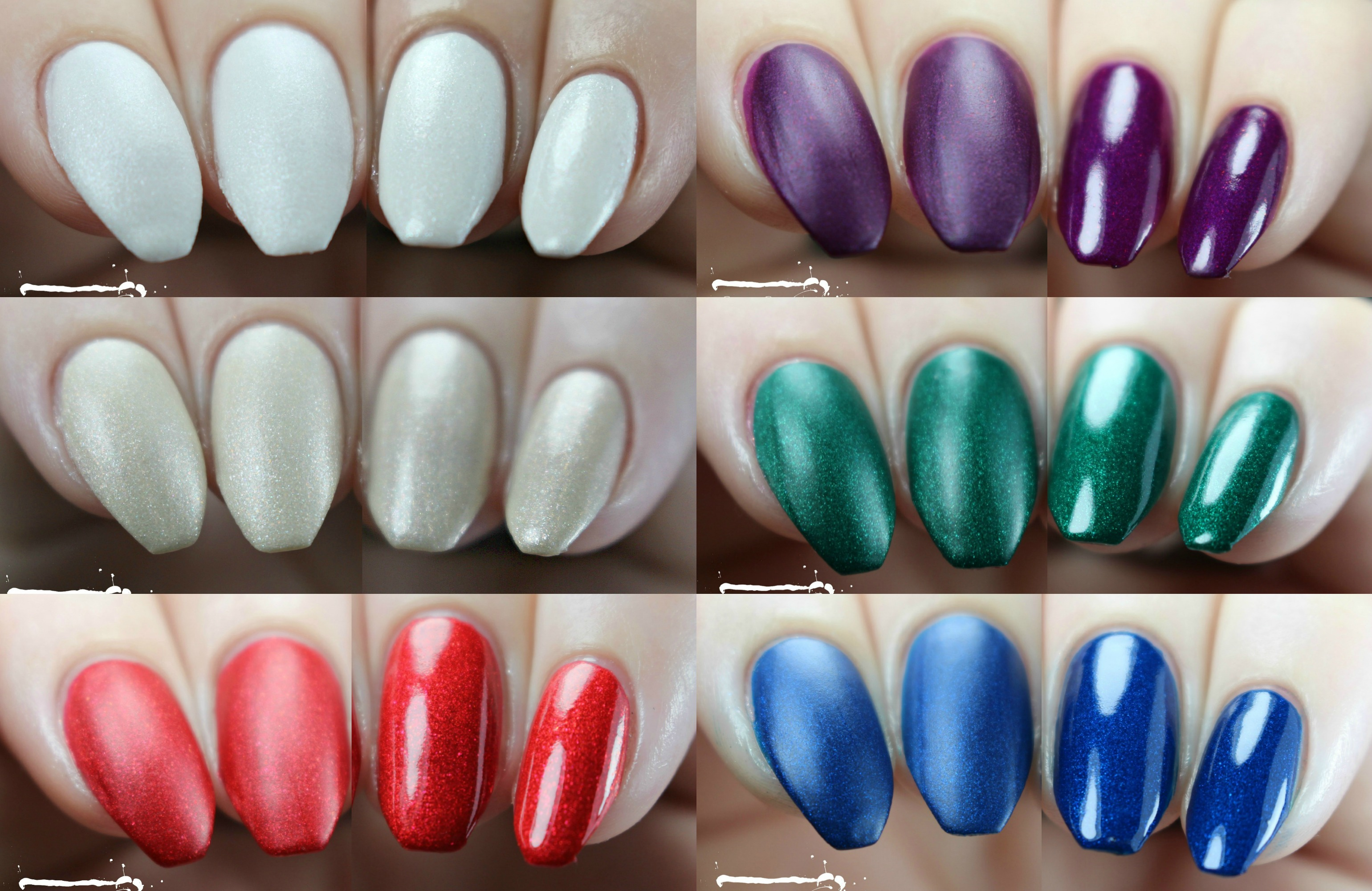 Swatches | Zoya Matte Velvet Holiday Winter 2015 Collection – Nail ...