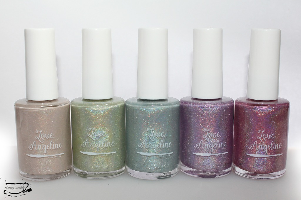 Love Angeline 2015 Winter Holo Collection