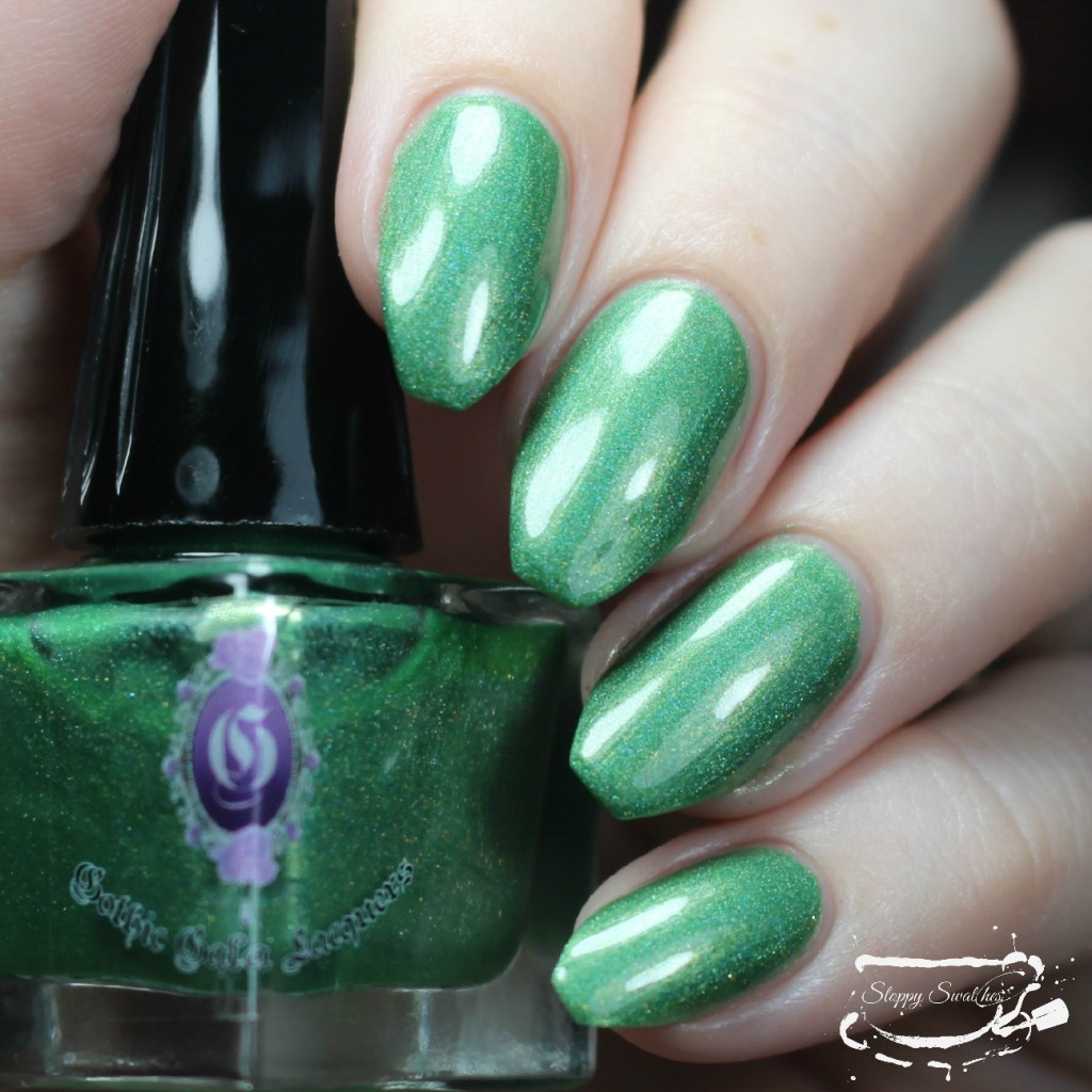 Lili St Cyr at 2 coats from Gothic Gala Lacquer