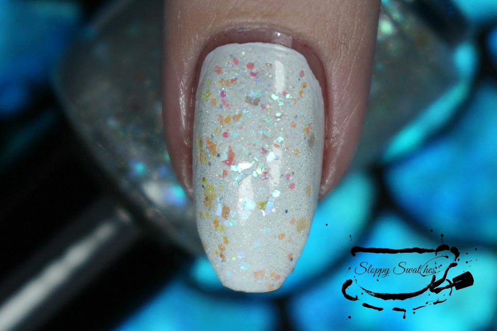 Mermaid Tears at 2 coats over Zoya Purity macro