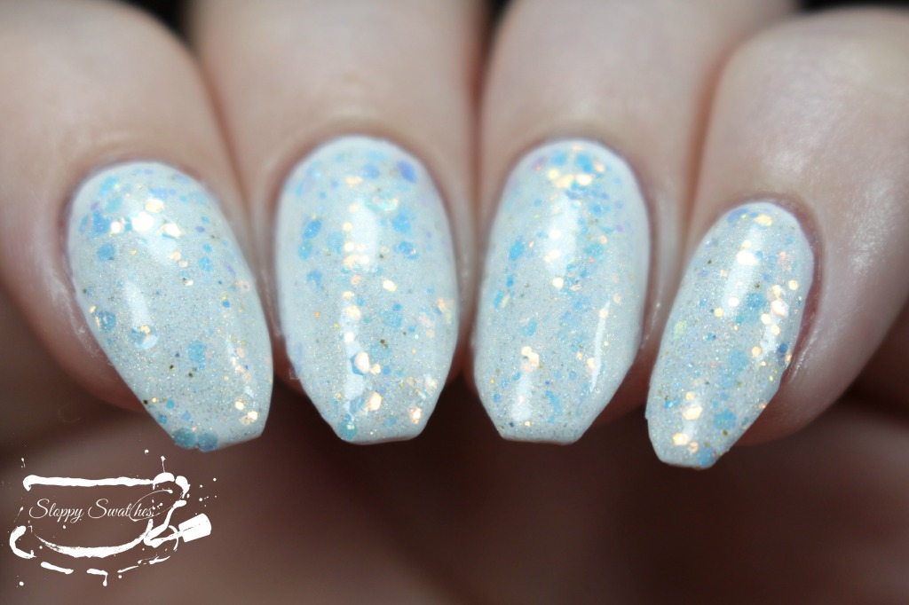 Mermaid Treasure at 2 coats over Zoya Purity