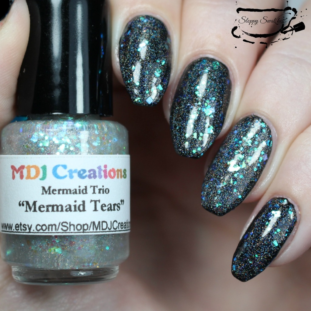 Mermaid Tears at 1 coat over Zoya Willa