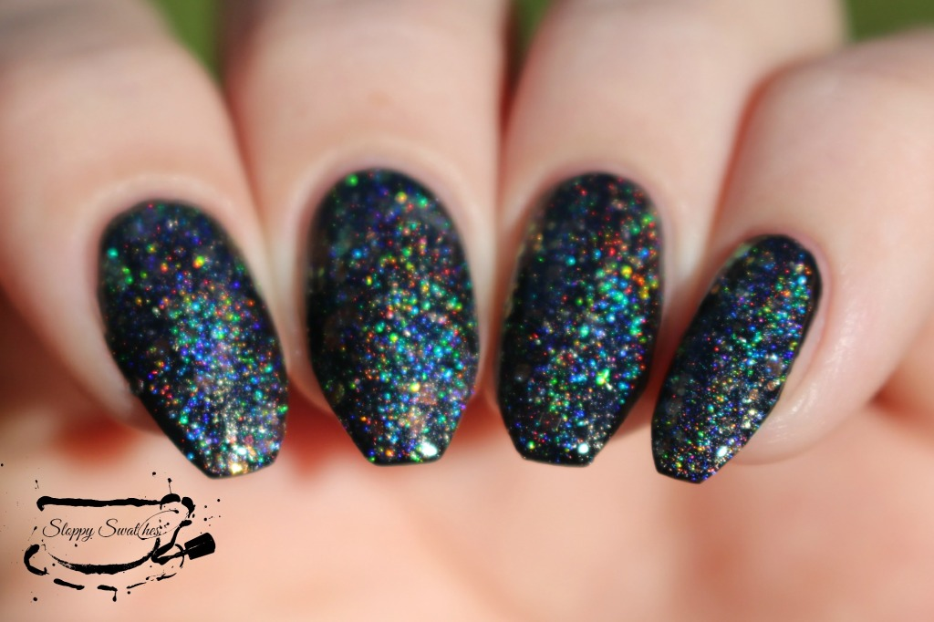 Mermaid Treasure at 1 coats over Zoya Willa