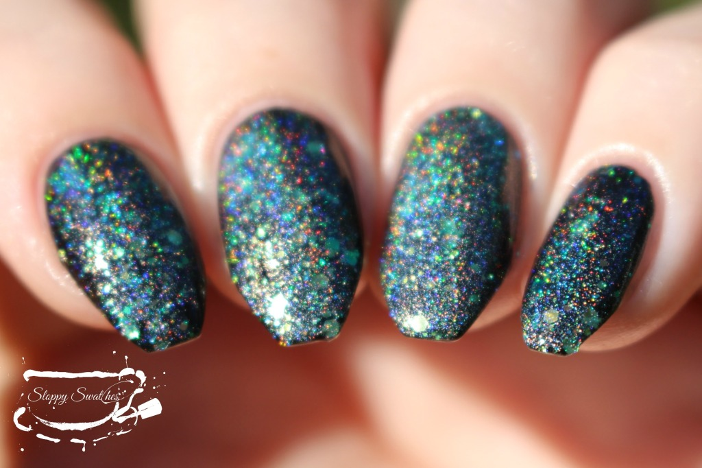 Mermaid Tail at 1 coat over Zoya Willa