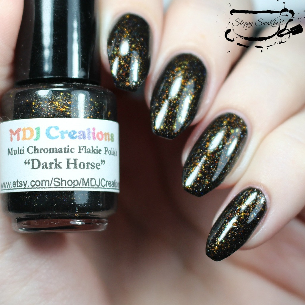 Dark Horse by MDJ Creations at 2 coats with topcoat