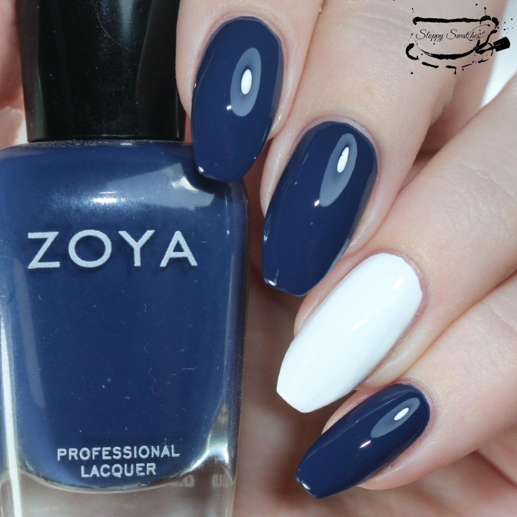 Zoya Sailor and Purity