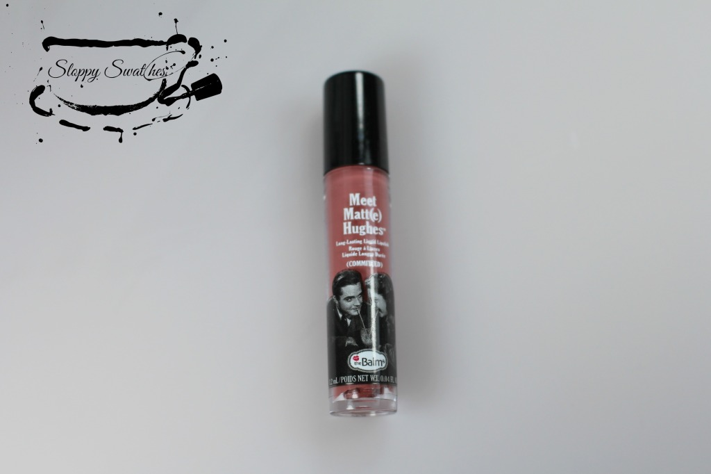 The Balm liquid Lipstick in the shade