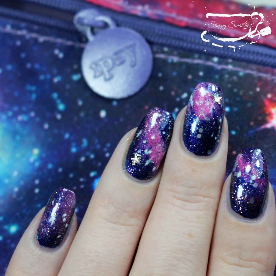 NailArt | Ipsy Inspired Galaxy Nails ft Love, Angeline – Nail art ...