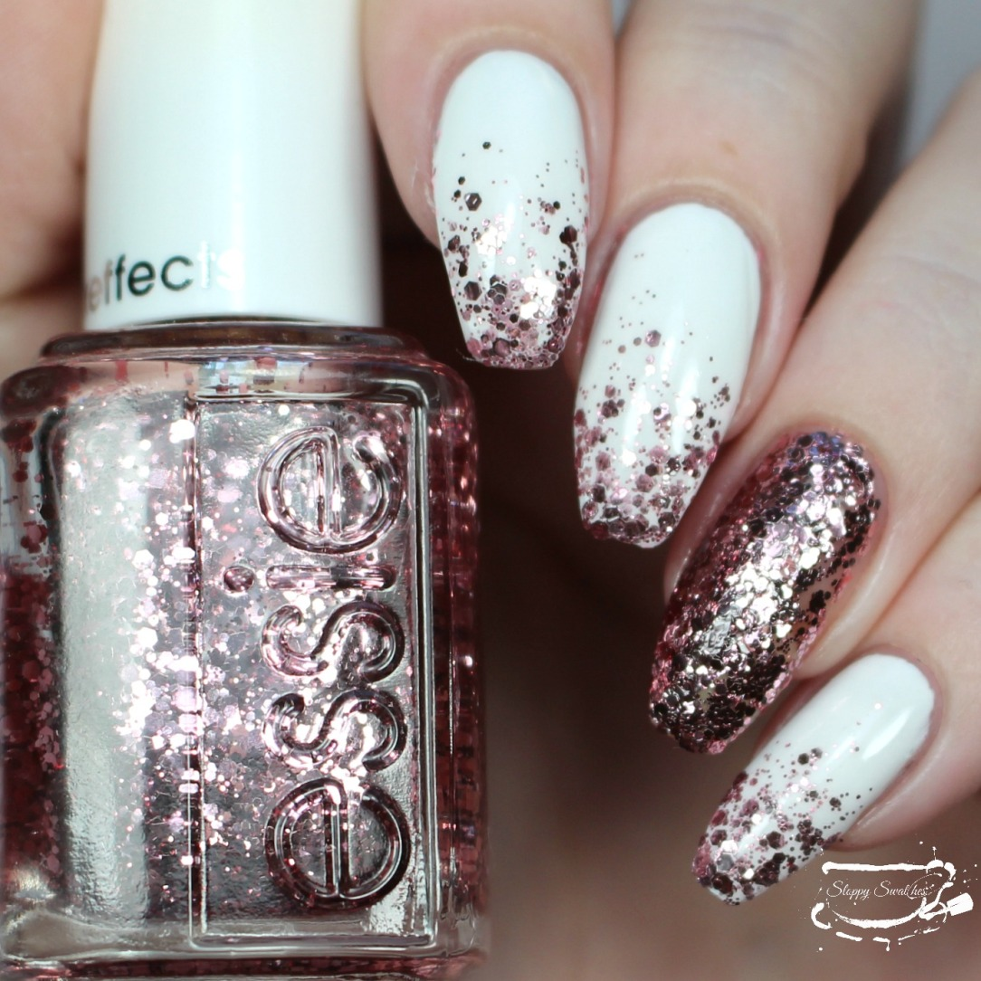 14 Days of Valentine\'s | Day 4 – Rose Gold Glitter Gradient – Nail ...