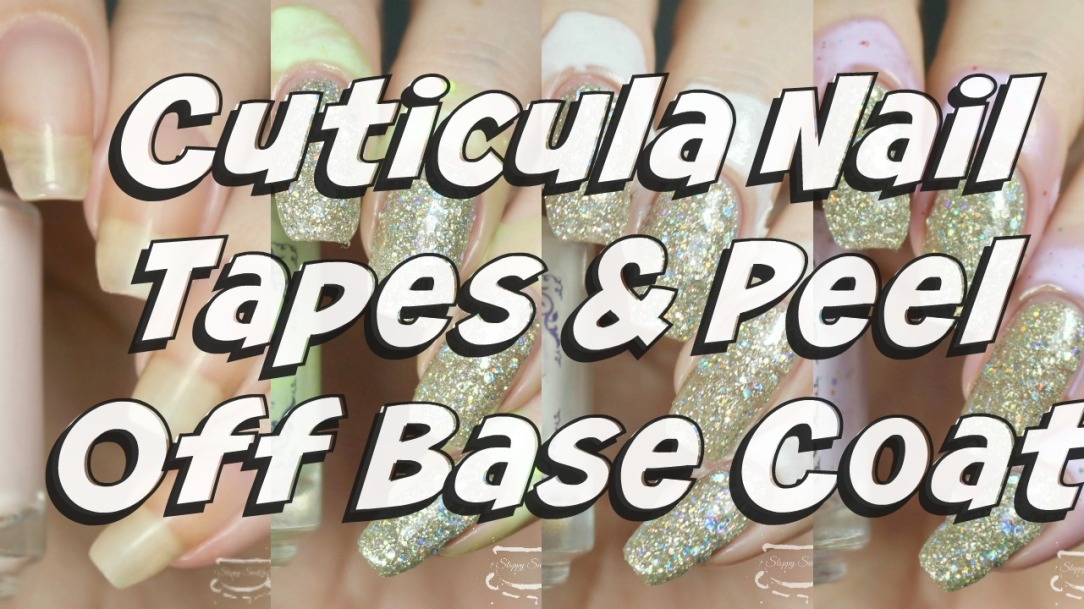 Review | Cuticula Nail Tape and Peel Off Base Coat – Nail art and ...