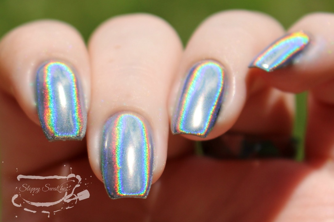Nail Art | Holographic Chrome Nails ft. Madam Glam and ...
