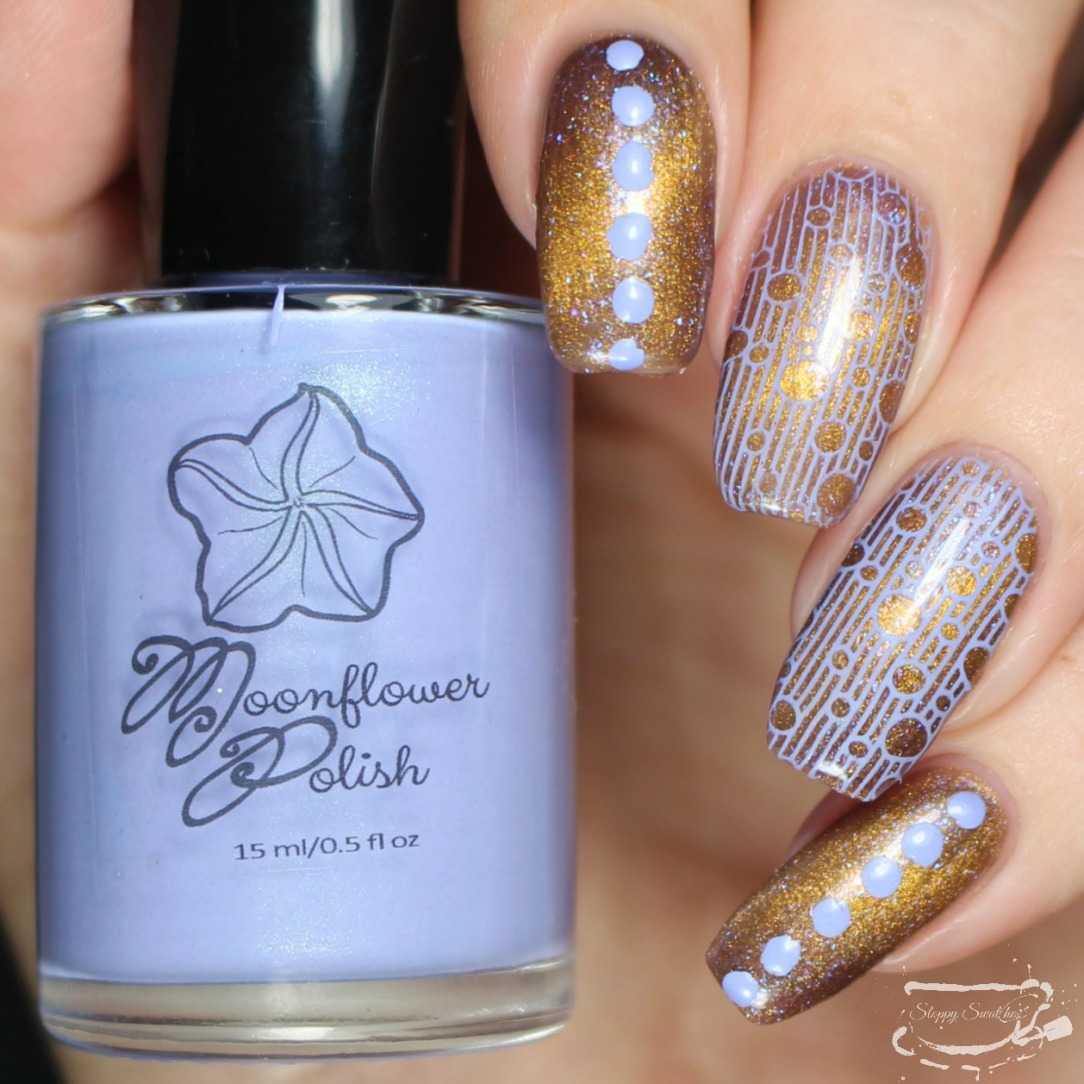 Nail Art | Stamped Magnetic Cat Eye Viva Drama by Madam Glam ft ...