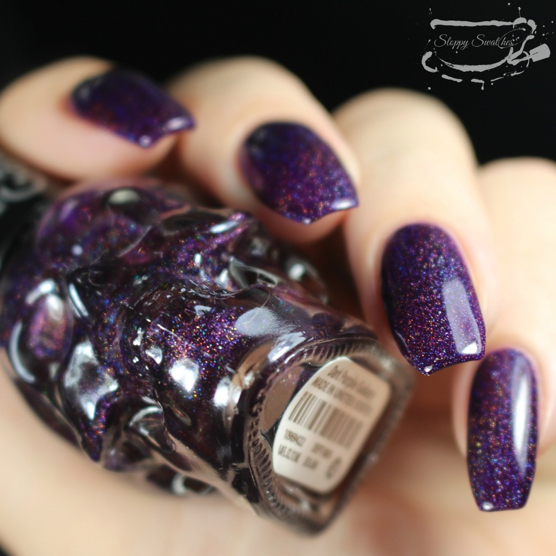 Swatches | Holographic Black Heart Beauty Nail Polishes – Nail art ...