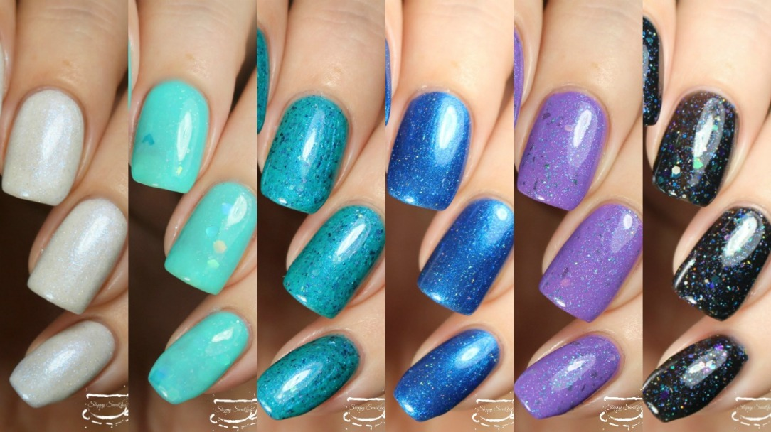 Swatches | September 2017 | Monthly Awareness Polish Box – Nail art ...