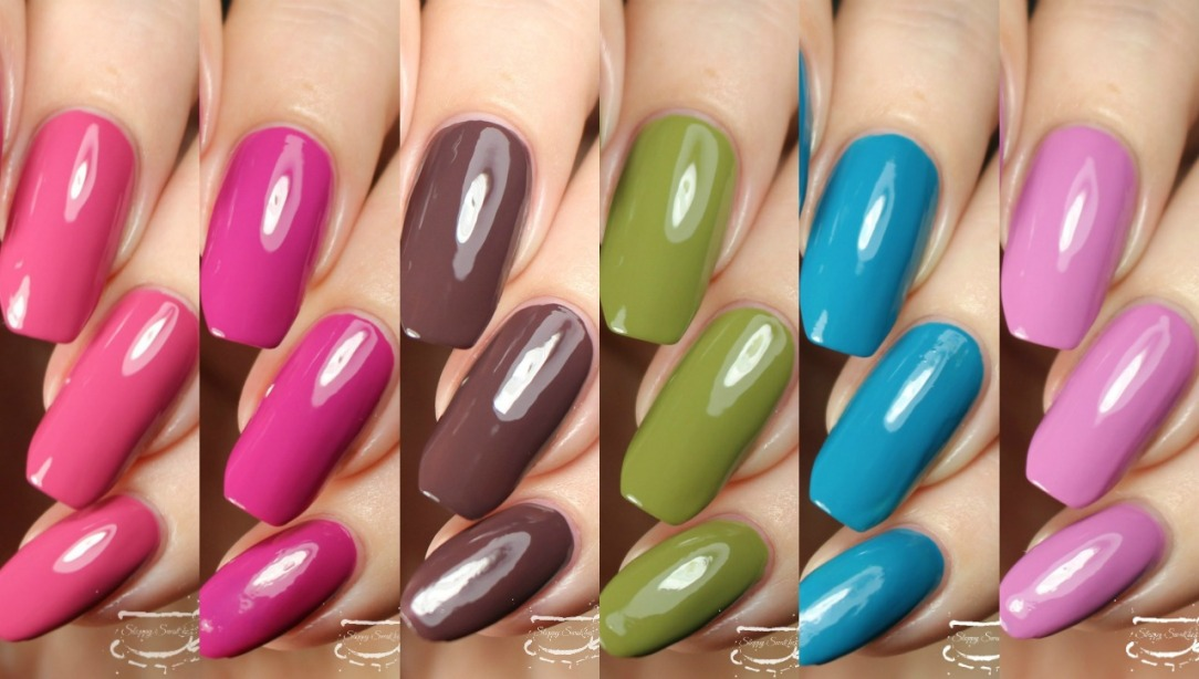 Swatches Bohemian Dreams Collection By Julie G Nail Art And Swatches