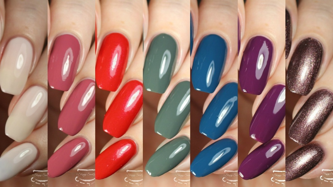 Swatches The Adventure Land Collection By Sally Hansen Miracle Gel