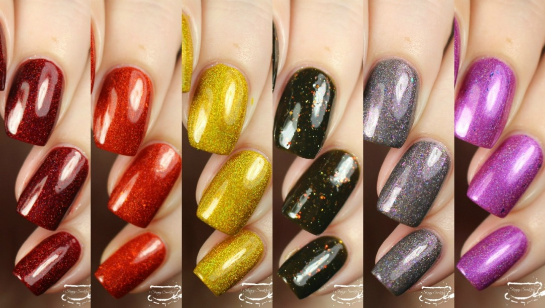 Swatches | The Goosebumps Halloween 2017 Collection by Colores de ...