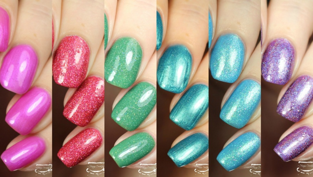 monthly awareness polish box – Nail art and Swatches
