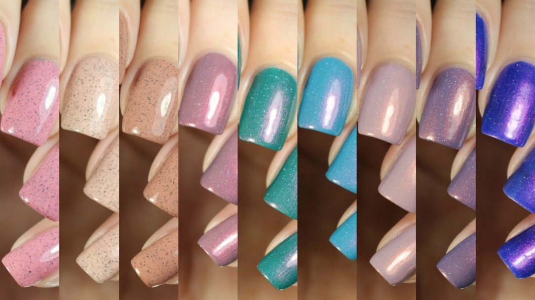 Swatches | Desert Bloom Collection by Cirque Colors – Nail art and ...